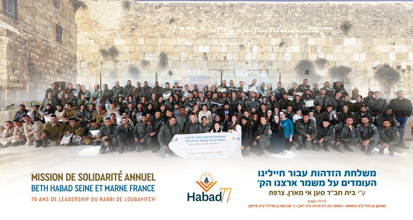 Mission solidarité Israel Annuelle